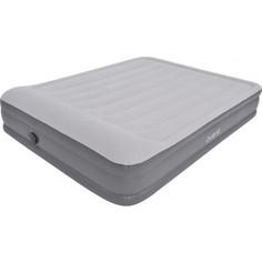 Надувная кровать Jilong QUEEN, с эл.насосом, 203х155х38 см