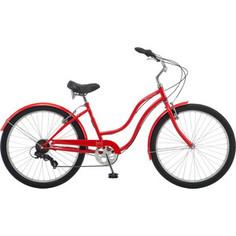 Велосипед Schwinn Mikko 7 (2019), 7 скоростей, колёса 26, цвет красный