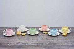 Чайный набор на подставке на 6 персон 374 Lefard
