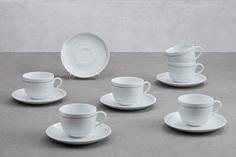 Набор чайных пар на 6 персон Camilla Impress