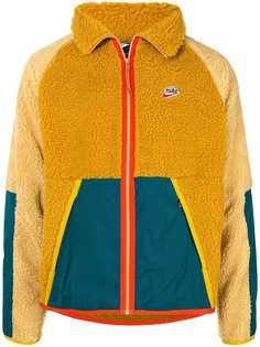 Nike спортивная куртка из шерпы