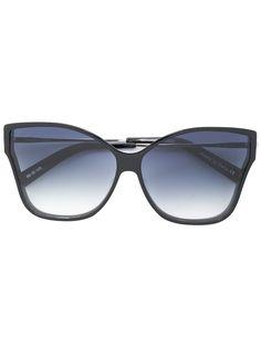Christian Roth солнцезащитные очки Tripale в оправе в форме бабочки