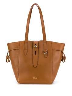 Furla сумка-тоут из зернистой кожи