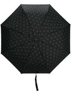Moschino зонт с цветочным принтом