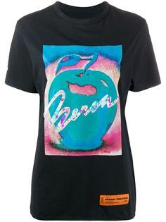 Heron Preston футболка Saturation