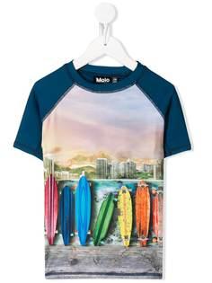 Molo Kids футболка с принтом