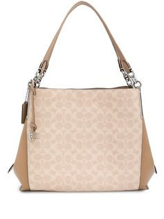 Coach сумка-тоут с монограммой