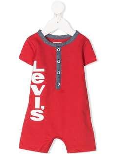 Levis Kids ромпер с логотипом