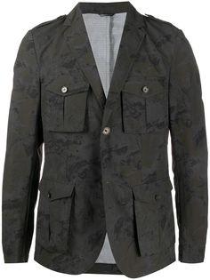 Daniele Alessandrini куртка-рубашка с камуфляжным принтом