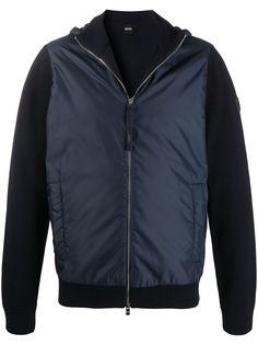 BOSS куртка на молнии со вставками