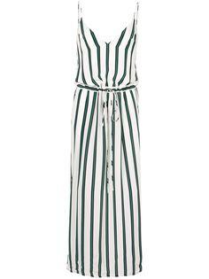 Manning Cartell длинное платье Elemental в полоску