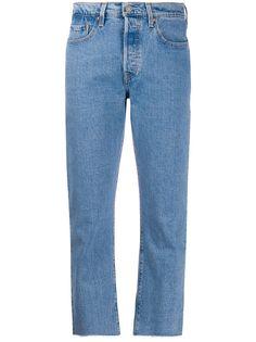 Levis укороченные джинсы 501