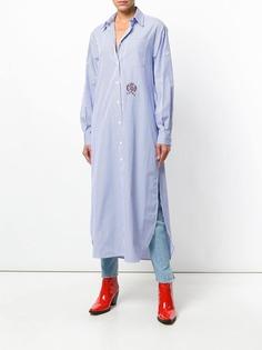 Tommy Hilfiger полосатое платье-рубашка