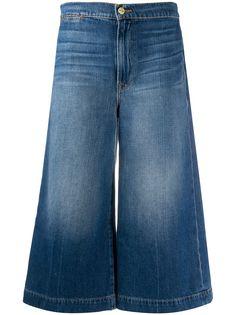 FRAME джинсовые кюлоты завышенной посадки