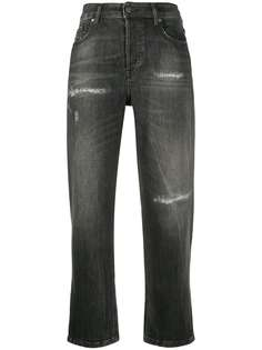 Diesel джинсы с завышенной талией и эффектом потертости