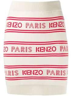 Kenzo юбка Paris с логотипом