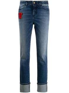 Emporio Armani джинсы с нашивкой