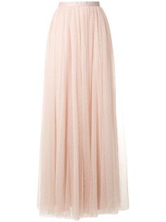 Needle & Thread юбка макси из тюля с завышенной талией