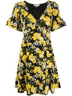 Michael Michael Kors платье мини с цветочным принтом