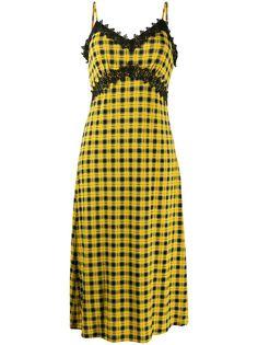 Michael Michael Kors платье на бретелях с кружевом