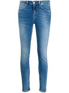 Calvin Klein Jeans джинсы скинни с эффектом потертости