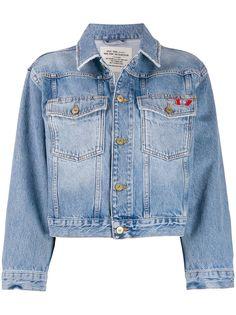 Diesel укороченная джинсовая куртка