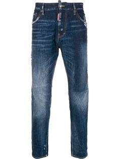 Dsquared2 прямые джинсы Dark Shadow