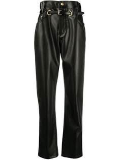 Philosophy Di Lorenzo Serafini брюки из искусственной кожи с присборенной талией