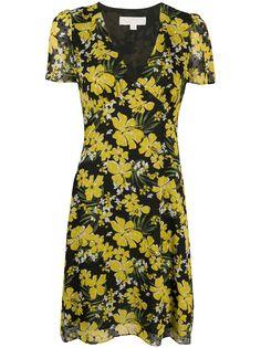 Michael Michael Kors платье с короткими рукавами и цветочным принтом