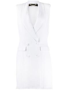 Federica Tosi двубортное платье-смокинг