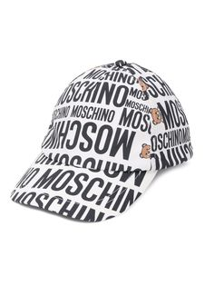 Moschino Kids кепка с логотипом