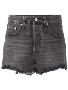 Levis джинсовые шорты средней посадки