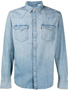 Levis джинсовая рубашка Barstow Western