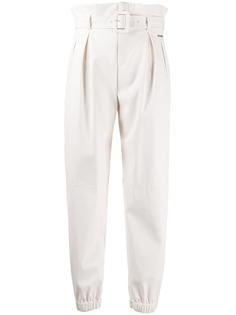 LIU JO зауженные брюки с поясом