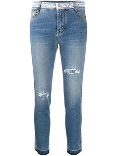 Ermanno Scervino джинсы с кружевом