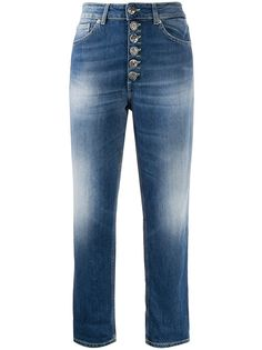Dondup укороченные джинсы бойфренды Koons