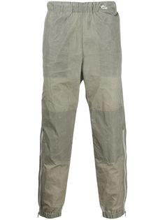 Kenzo спортивные брюки с жатым эффектом