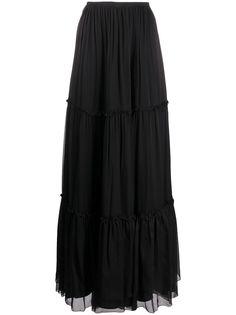 Federica Tosi ярусная юбка макси