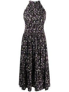 Michael Michael Kors расклешенное платье с цветочным принтом