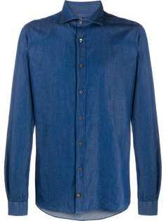 Fay джинсовая рубашка