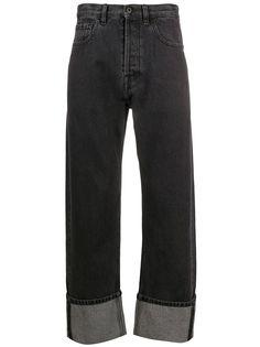 Valentino джинсы прямого кроя с логотипом VLogo