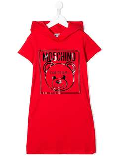 Moschino Kids конверт-свитер с принтом Teddy Bear