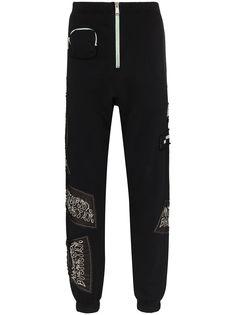 Heron Preston спортивные брюки с логотипом из коллаборации с Sami Miro