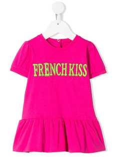 Alberta Ferretti Kids платье French Kiss с вышивкой