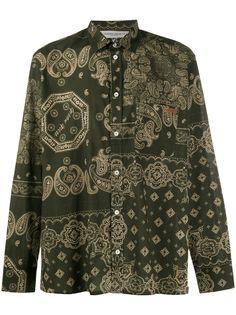 Golden Goose рубашка Houston с принтом