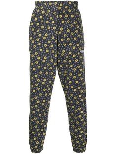 Martine Rose спортивные брюки с цветочным принтом