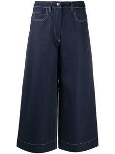 Kenzo джинсовые кюлоты широкого кроя
