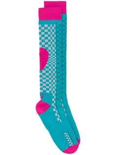 ASICS длинные носки с узором