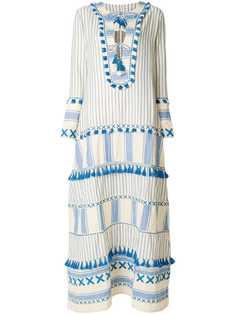 Dodo Bar Or длинное платье с кисточками