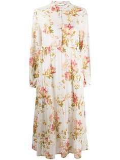 Semicouture платье миди с принтом